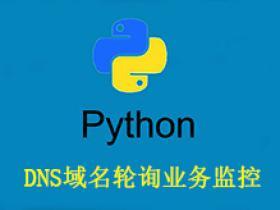 DNS域名轮询业务监控(Python)